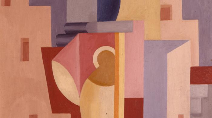 Charlotte Wankel Komposisjon Med Avantgardearkitektur (1926)