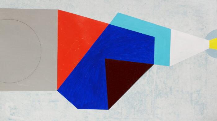01 Kjell Varvin, 20201104, 2020. Blyant Og Akryl På På Papir, 70×100 Cm